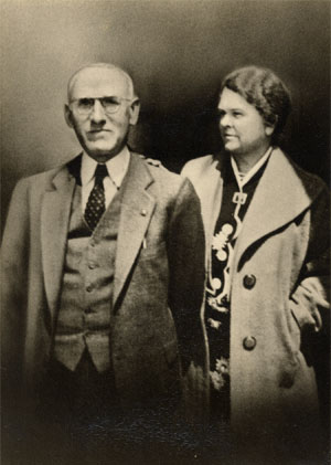 Dr Charles Washington Purnell & Wife, Flossie Messick